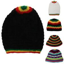 Unisex Beanie Women Men Winter Wool Blend Knit Warm Slouch Beanie Ski Hat Cap
