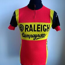TI RALEIGH CAMPAGNOLO 1976 ACRYLIC CYCLING SHIRT VINTAGE JERSEY SIZE ADULT S