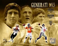 Archie Manning, Peyton Manning, Eli Manning NFL Composite Photo (Select Size)