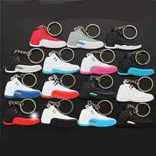 AJ12 Boost Style Silicone Keychain Sneaker  basketball shoes Jordan Keychain