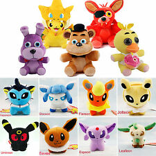 FNAF/ POKEMON Stuffed Toys Plush Doll Animal Soft Teddy Collectible Kids Gifts