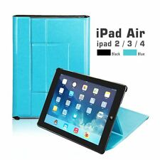 Smart Stand Sleep/Wake Magnetic Leather Case Cover For APPLE iPad