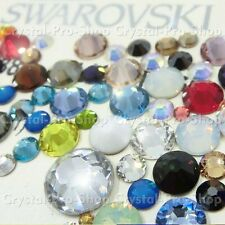 144 Genuine Swarovski ( NO Hotfix ) 34ss Crystal Rhinestone Distinct Colors ss34