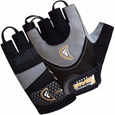 Farabi Hybrid Leather Weight Lifting Fitness Gym Gloves for Workout & Training