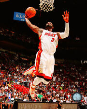 Dwyane Wade Miami Heat NBA Licensed Fine Art Prints (Select Photo & Size)