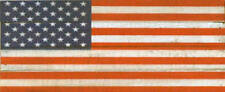 Artistic Reflections 'American Flag' by Rachel Anderson Painting Print on Plaque