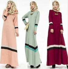 New Women Long dress Muslim Abaya Kaftan Islamic Cocktail maxi dress Clothing