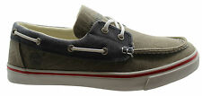 Timberland Earthkeepers NewMarket Mens Boat Shoes Oxford Taupe Navy (6731R D4)