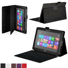 """Flip Leather Case Stand Cover For Microsoft Surface 10.6""""  Windows 8 RT Tablet"""
