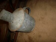 Vintage Coal Mining -Galvanized Powder Can with Lid -Unusual