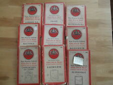 Job Lot / Collection / Bundle of 9 New Popular Edition Maps