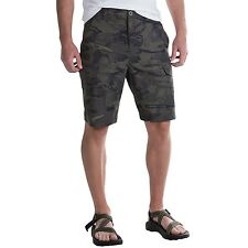 NWT~ MEN'S UNDER ARMOUR 'RIVERBED' FISH HUNTER STORM CARGO SHORTS. 32-40, SHARP