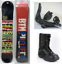 "NEW BTM PROJECT ""SPOON SOFT"" SNOWBOARD, BINDINGS, BOOTS PACKAGE - 152cm"