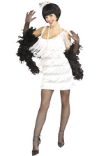 Ladies 1920s 20s Broadway Babe Flapper Fancy Dress Outfit Costume