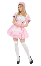 Ladies Little Miss Muffet Fairytale Storybook Party Fancy Dress Costume
