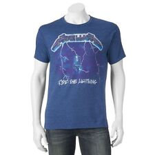 New Metallica Ride The Lightning Retro Men's Vintage Classic T-Shirt