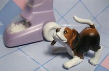 1996 Barbie Cleanin House Dress n PLay Barking Pet Dog (only)-He Barks at Vacuum