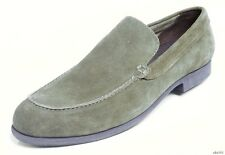 new classy mens COLE HAAN Folsom dark green forest suede slip-on loafers shoes