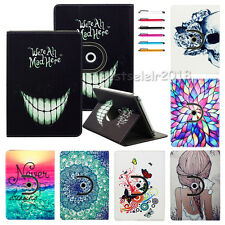 "360 Rotating Stand PU Leather Case Cover For 9.7"" 10'' 10.1'' Tablet PC+Stylus"