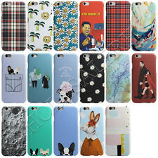 Funny Patterned Soft TPU Case Cover For iPhone 7 5 5s SE & IPhone 6s 6 Plus NEW