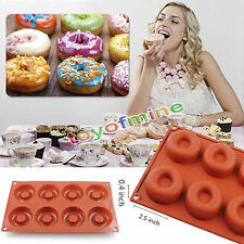 Donut Doughnut Chocolate Muffin Pan Maker Soap Cake Mold Baking Mould