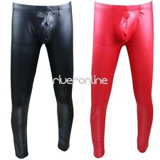 New Sexy Men's Stretchy Long Johns Bulge Pouch Underwear Leggings Pants Trousers