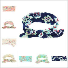 Cute Baby Girls Colorful Headband Toddler Bow Flower Hair Band Head Accessories