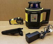 (pa2) Leica Geosystems Swiss Rugby 820 Rotating Laser Level with Rod Eye