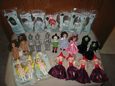 Happy Meal McDonalds Wizard Of Oz Lot of 24 Dolls 2007 Loose and In Package!