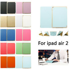 Luxury Slim Flip Leather Magnetic Smart Stand Case Cover for iPad Air 2 iPad 6
