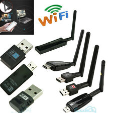 802.11n/g/b 150/300Mbps USB WiFi Wireless Adapter Network LAN Card w/Antenna USA