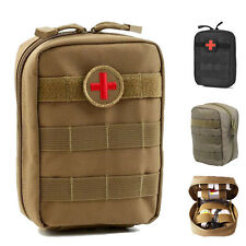 Tactical MOLLE EMT Pouch Medic EMS Paramedic Trauma First Aid Pouch Bags 3Color