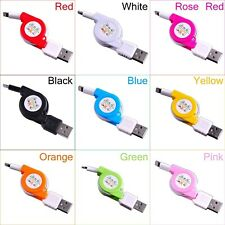 Retractable USB Sync Data Charging Cable Cord Charger Power Wire for iPhone 5 6