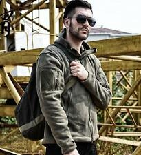 Fashion Mens Hoody Military Coat Tactical Warm Trench Outdoor Outwear Jacket sz