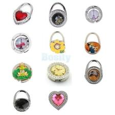Assorted Rhinestone Folding Bag Purse Handbag Table Hook Hanger Holder Hot