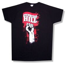 Cypress Hill Rebel Fist Tour 2010 Black T Shirt New Official Rise Up