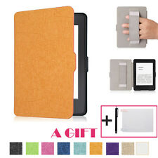 Magnetic Smart Sleep/Wake Up Leather Case Cover For Amazon Kindle Paperwhite 201