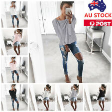 Woman Long Sleeve T-shirt Cross Back Lace Up Bandage Loose Casual Tops Blouse