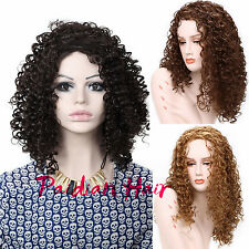 Paidian Black Woman Curly 24inch Long Sexy Party Full Wigs Synthetic Wigs