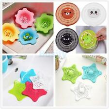 Kitchen Bathroom Sink Shower Hair Catcher Strainer Plug Drain Stopper 3 Types