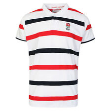 ENGLAND STRIPE POLO SHIRT, OFFICIAL ENGLAND RUGBY SHIRT, CARRY ME HOME RANGE
