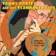 Complete Recordings: 1935-39 Tommy Dorsey & His Clambake Seven Audio CD