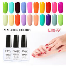 Elite99 Macaron Color Gel Nail Polish UV LED Lacquer Manicure Top Base Coat New