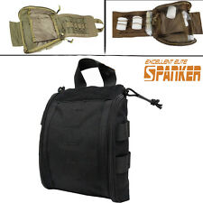Tactical Army Molle Hunting Medical First Aid Pouch Emergency Bag Pack CB/BK
