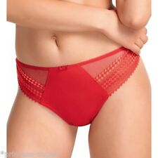 FANTASIE REBECCA THONG/KNICKERS/PANTS RED SIZE L 14 16 2027 NEW