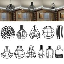 Industrial Vintage Antique Metal Bulb Cage Guard Lampshade Light Chandelier PICK