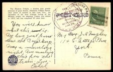 Tennessee Pass Colorado Aug 9 1940 Single Franked Post Card To York Pa