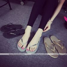 Girls Womens Summer Casual Flip Flops Beach Slippers Sandals Pool Shoes Stylish