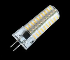 10pcs Dimmable G4 80-4014SMD LED BULB lamp 5W 500lm 110/240V Silicone White/warm