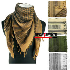 Military Winter Tactical Arab Shemagh Kafiya Scarf Mask Unisex Cotton Face Cover